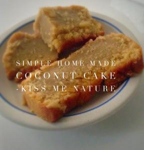 My Coconut cake